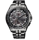 CITIZEN 星辰 光動能 電波 計時 鈦金屬腕錶 AT9097-54E