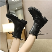 短筒靴 時尚瘦瘦短靴2020冬季爆款潮短筒機車靴女鞋