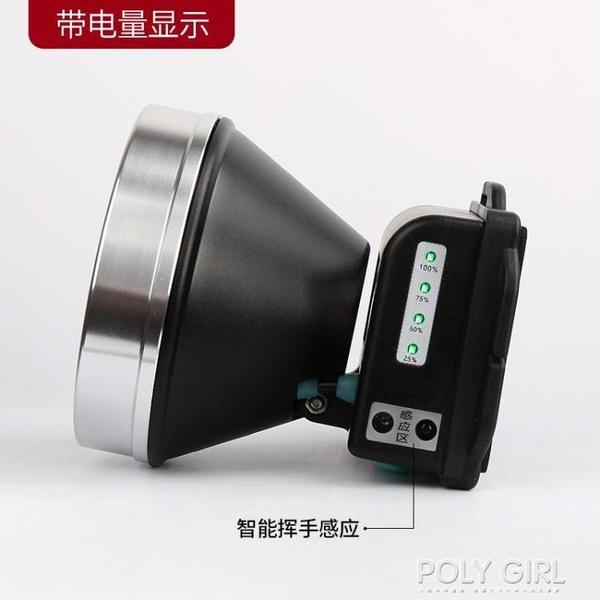 雅尼led頭燈強光充電超亮超長續航戶外頭戴式手電筒釣魚鋰電礦燈 poly girl