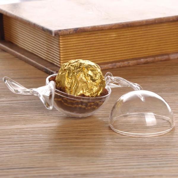 婚禮小物DIY.糖果壓克力盒