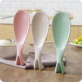 可立式魚形飯勺-家用不粘米塑料飯鏟子-杓子 衣普菈