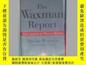 二手書博民逛書店英文原版罕見The Waxman Report by Henry