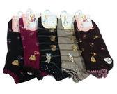女襪(3雙入) 彼得兔 泰迪 台灣製造 MIT 襪子 花色 隨機出貨 22-24cm