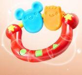 宝宝玩具5只裝寶寶幼兒牙膠磨牙棒寶寶咬咬膠