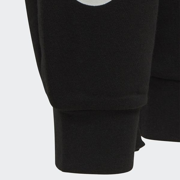 ADIDAS LINEAR PANTS 童裝 大童 長褲 慢跑 縮口 基本款 黑【運動世界】EH6159