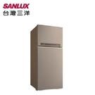 【南紡購物中心】SANLUX台灣三洋 580L雙門鏡面鋼板變頻電冰箱 SR-C580BV1B