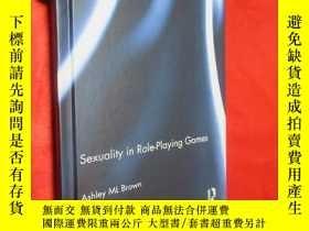 二手書博民逛書店Sexuality罕見in Role-Playing Games