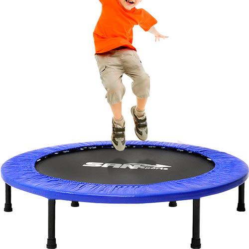 跳跳樂36吋彈跳床91cm跳跳床彈簧床跳高床.有氧彈跳樂彈跳器.平衡感兒童遊戲床【SAN SPORTS】