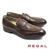 【REGAL】都會時尚樂福休閒鞋 咖啡(50HR-DBR)