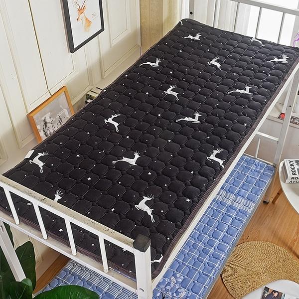 床墊 學生宿舍單人0.9m榻榻米上下鋪褥子1.2/1.5工廠墊被軟墊薄款【快速出貨八折下殺】