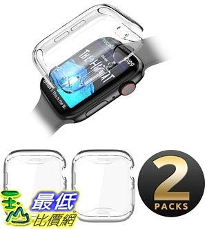 保護套 SUPCASE Apple Watch 4 Case 40mm 2018, [Built-in Screen Protector] Soft TPU Protector Case