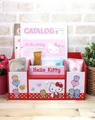 HELLO KITTY多功能二抽收納盒 桌上收納 小物收納 文具收納 三麗鷗 生日禮物 交換禮物 情人禮物