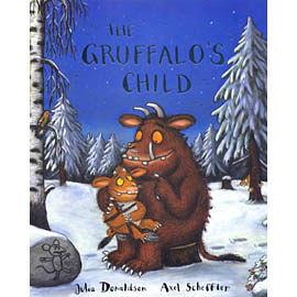 【麥克書店】GRUFFALO'S CHILD /英文繪本附CD/作家Julia Donaldson