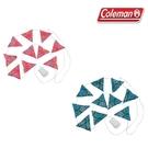 [Coleman] LED串燈(三角旗) 藍、粉紅 (CM-22289、CM-22287)
