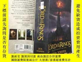 二手書博民逛書店The罕見lord of the rings 3魔戒設定盛典-藝