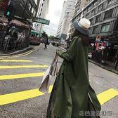 韓版春秋季港味風衣女外套