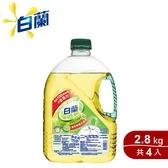 白蘭 動力配方洗碗精(檸檬) 2.8kg x4入組