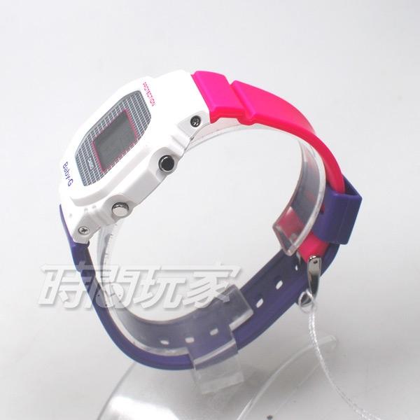 Baby-G BGD-560THB-7 數位顯示 90年代 復古運動 計時女錶 防水手錶 CASIO卡西歐 BGD-560THB-7DR