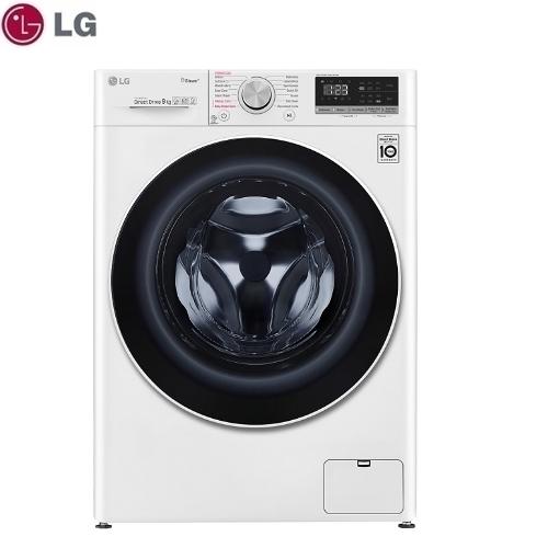 【LG】9公斤 WIFI滾筒洗衣機(蒸洗脫烘)《WD-S90VDW》典雅白 馬達十年保固(含拆箱定位)