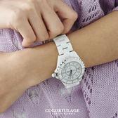柒彩年代【NE459】高精密全陶瓷腕錶 Valentino范倫鐵諾 藍寶石鏡片+日本機芯手錶~單隻