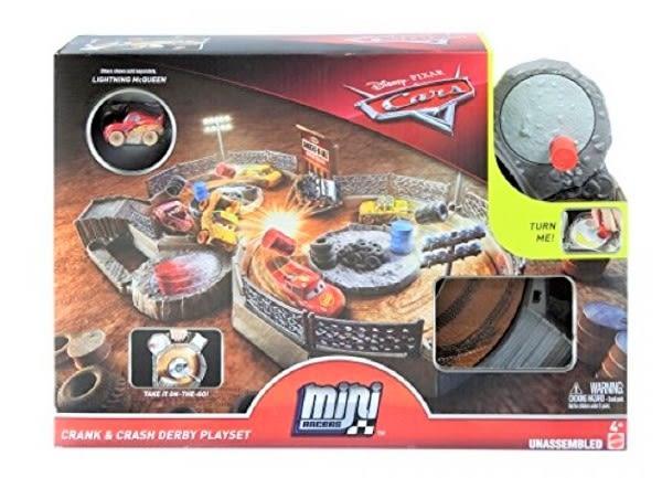 汽車總動員 CARS-汽車總動員迷你小汽車瘋狂賽車場 TOYeGO 玩具e哥