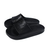 FILA 拖鞋 戶外 防水 女鞋 黑色 4-S326U-000 no068