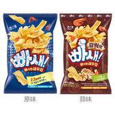 韓國 海太 爆脆蝦片(60g) 原味/蒜味 2款可選【小三美日】進口零食/團購