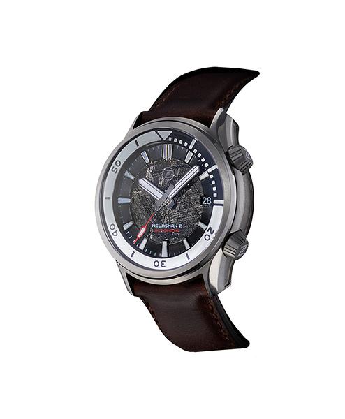 【ZELOS】/時尚摩登錶(男錶 女錶 Watch)/STEEL METEORITE Helmsman 2/台灣總代理原廠公司貨兩年保固