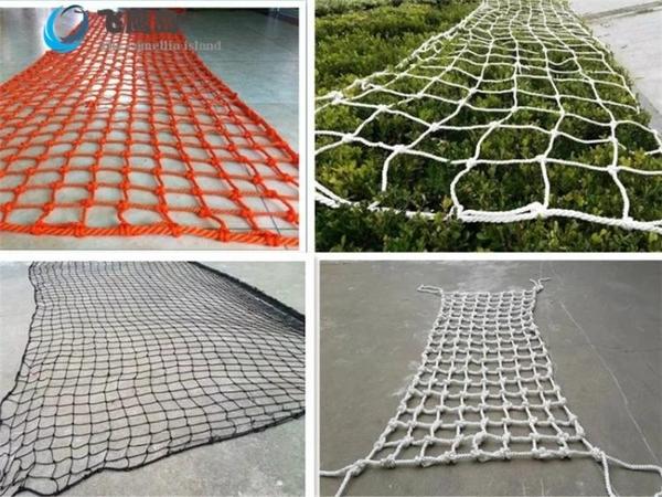 掛衣網綠色陽臺樓梯防護網兒童幼兒園安全網網繩尼龍繩網裝飾網