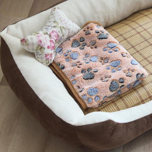 春夏狗窩泰迪寵物窩貓窩小型中型大型犬金毛貴賓狗床墊子狗狗用品