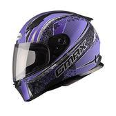 [東門城] SOL GMAX FF-49 凡爾賽 消光黑紫 全罩式安全帽 輕量設計 防水設計 通風佳