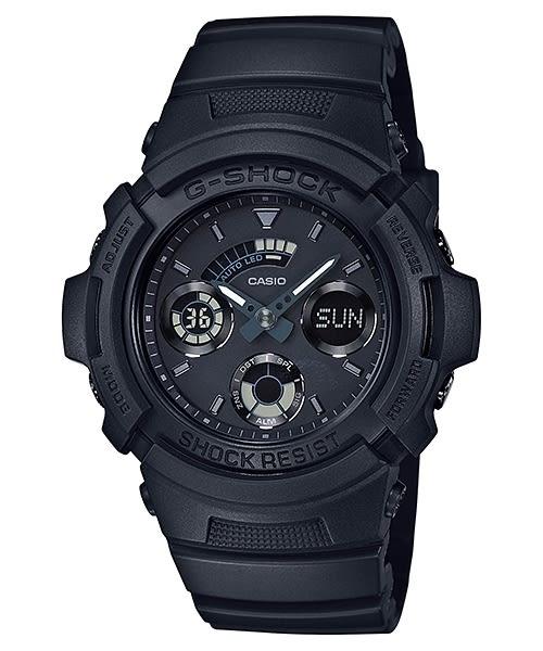 【時間光廊】CASIO 卡西歐 G-SHOCK 雙顯 全黑 全新原廠公司貨 AW-591BB-1ADR