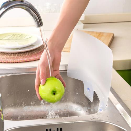 創意廚房- 附吸盤水槽防濺擋水板 炒菜防濺擋油板