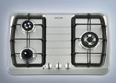 【歐雅系統家具】櫻花 SAKURA G-2830KG三口防乾燒節能檯面爐