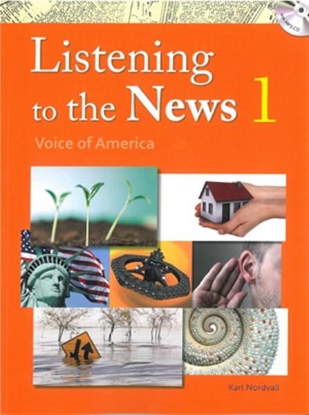(二手書)Listening to the News: Voice of America 1(with MP3)