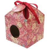 《荷包袋》造型點心盒 花富貴(10入/包)