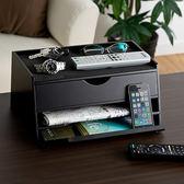 SANWA iPad平板桌上收納盒 黑/白