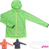ASICS亞瑟士  女 慢跑風衣外套 (綠)