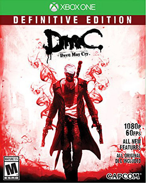 X1 DMC Devil May Cry: Definitive Edition 惡魔獵人 決定版(美版代購)