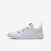 Nike Pico 5 GS [CJ7199-100] 大童鞋 女鞋 運動 休閒 基本 魔鬼氈 簡約 緩震 穿搭 白灰