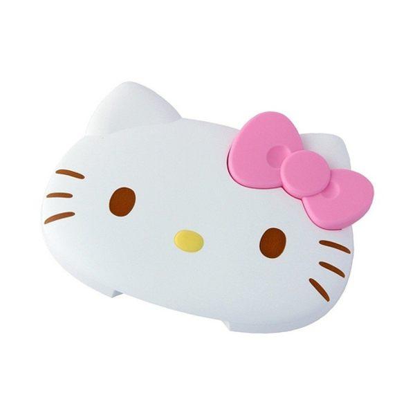 【震撼精品百貨】Hello Kitty 凱蒂貓~凱蒂貓 HELLO KITTY 頭型濕紙巾蓋