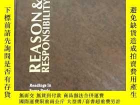 二手書博民逛書店reason罕見respnsibilityY247760 出版1