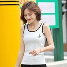 短袖T恤 吊帶背心女夏裝2020新款時尚性感外穿無袖女士修身顯瘦內搭打底衫