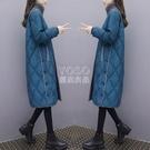 羽絨棉服女2020秋冬新款中長款韓版大碼寬鬆加厚棉衣過膝棉襖外套新年禮物