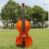 實木演奏考級純手工小提琴成人兒童樂器xtq小提琴 星辰小鋪