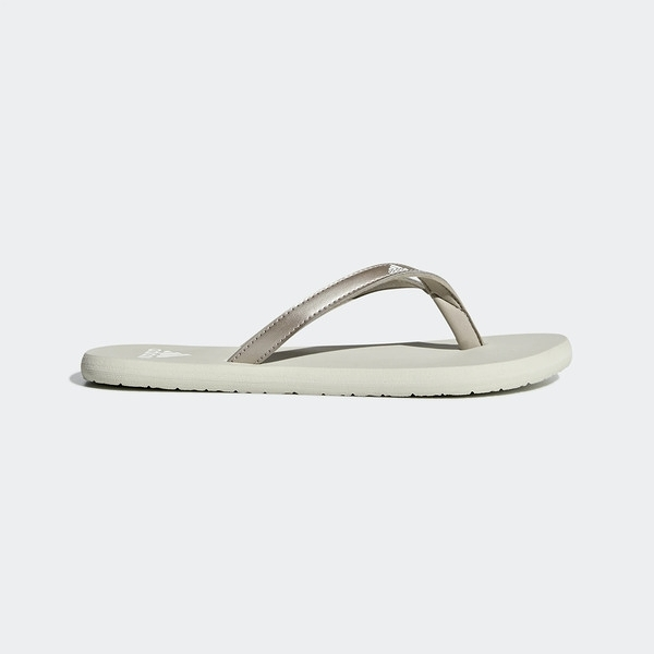 ADIDAS EEZAY FLIP FLOP [F35034] 男女 涼鞋 拖鞋 雨鞋 水鞋 休閒 夾腳 愛迪達 米灰
