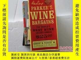 二手書博民逛書店PARKER S罕見WINE BARGAINS: The Wor