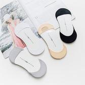 新款日系冰絲細腰口隱形襪無痕腳底海綿墊女士襪子《小師妹》yf599