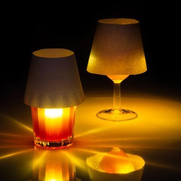 SUCK UK 水杯漂浮投影燈