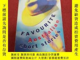 二手書博民逛書店Favourite罕見Australian Short Stor